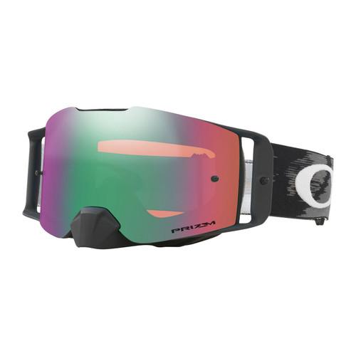 Oakley Front Line MX Goggle (Matte Black Speed) Prizm Jade Irdium Lens