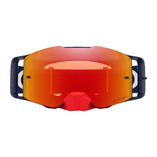 Oakley Front Line MX Goggle (RWB) Prizm Torch Irdium Lens