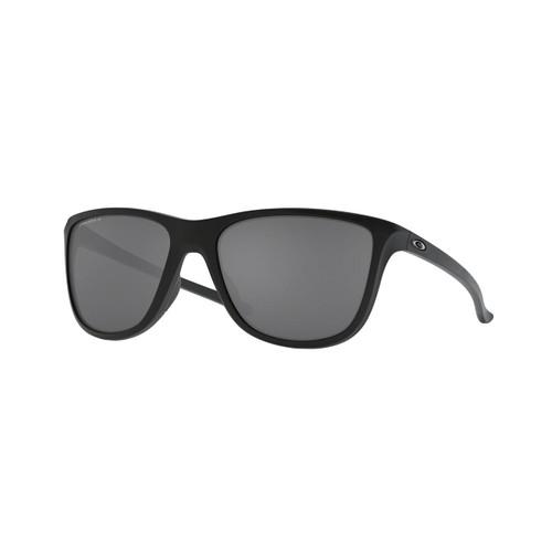 Oakley Reverie Sunglasses Adult (Matte Black) Prizm Black Polarized Lens