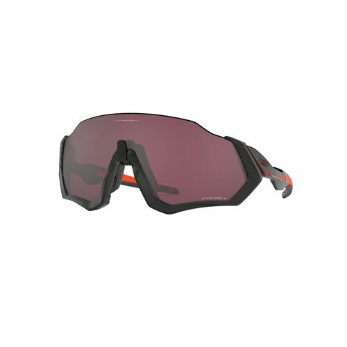 Oakley Flight Jacket Sunglasses Adult (Ignite) Prizm Road Black Lens