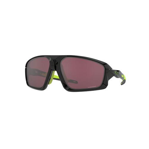 Oakley Field Jacket Sunglasses Adult (Ignite) Prizm Road Black Lens