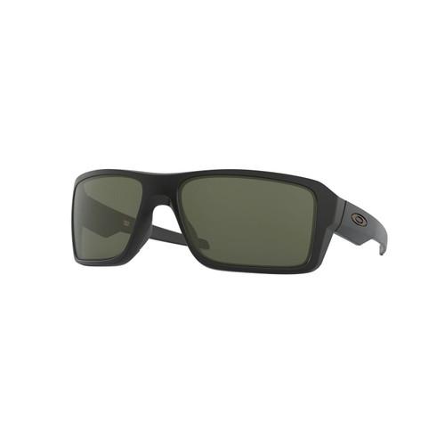 Oakley Double Edge Sunglasses Adult (Matte Black) Dark Grey Lens