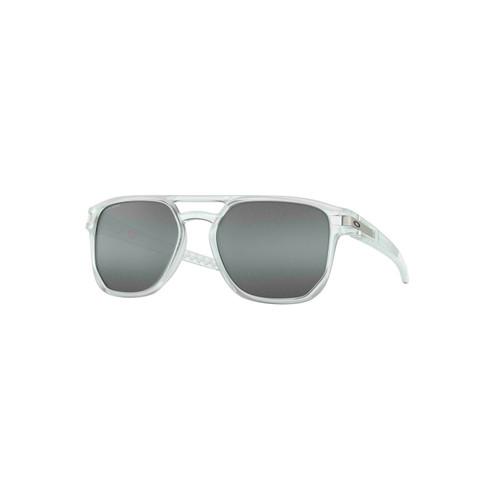 Oakley Latch Beta Sunglasses Adult (Matte Clear) Prizm Black Lens