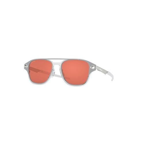 Oakley Coldfuse Sunglasses Adult (Polished Chrome) Prizm Peach Lens
