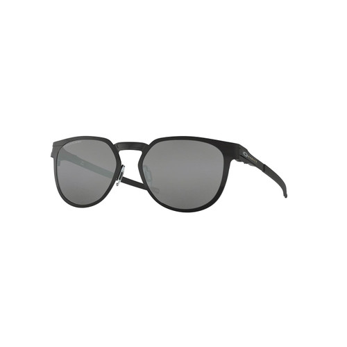 Oakley Diecutter Sunglasses Adult (Satin Black) Black Iridium Polarized Lens