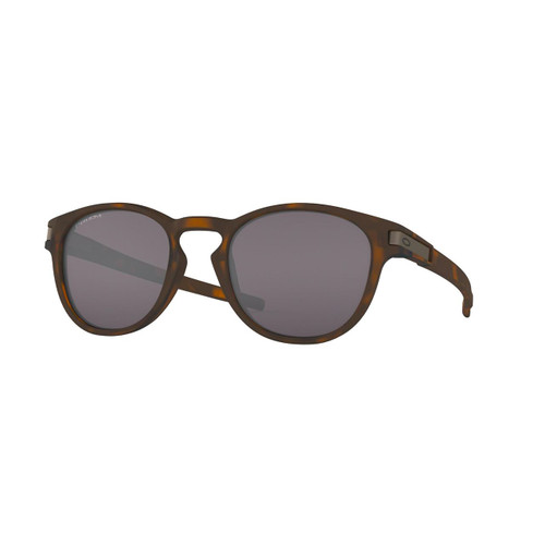 Oakley Latch Sunglasses Adult (Matte Brown Tortoise) Prizm Grey Lens