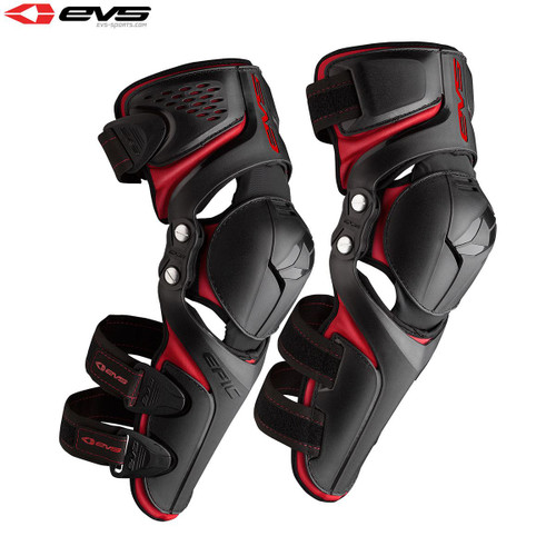EVS Epic Knee Guards Adult (Black) Pair