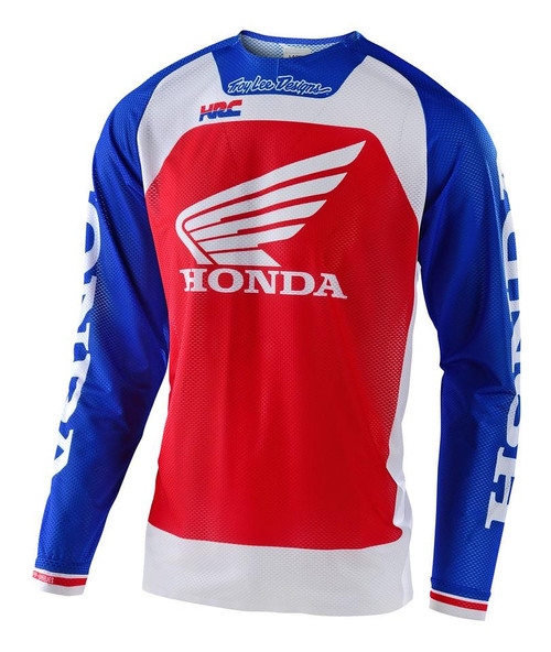 TLD 2021 SE PRO AIR MX Jersey Boldor Honda Blue/Red