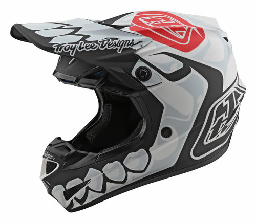 TLD SP20 SE4 POLY YTH 20 SKULLY WHITE