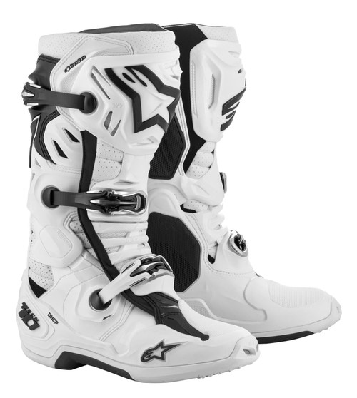 Alpinestars Tech 10 Adult Supervented Motocross Boots White