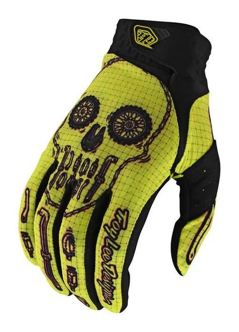 TLD MX Gloves Air LE Gear Head Yellow