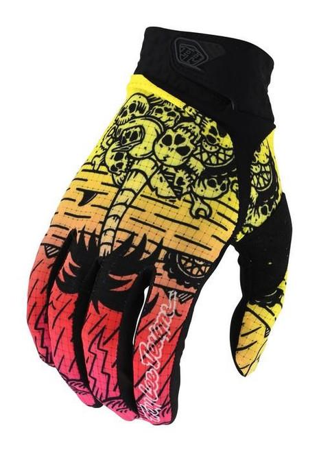 TLD MX Gloves Air LE Boneyard Green/Pink