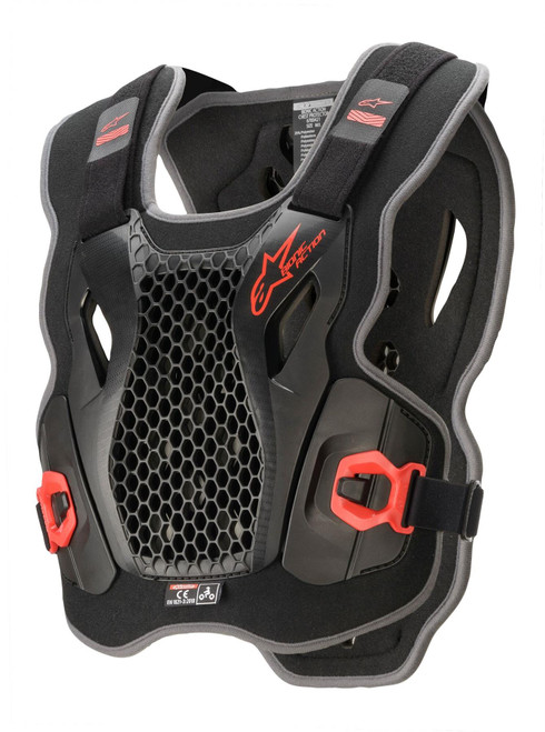 Alpinestars CHEST BIONIC ACTION BLK/RED M/L