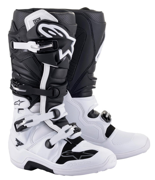 Alpinestars Tech 7 MX Boots White/Black