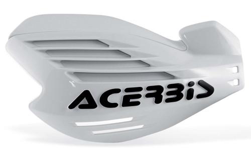 Acerbis X-FORCE Motocross Handguards White/Black + Fitting Kit KTM MX Off-Road