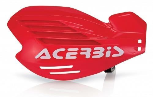 Acerbis X-FORCE Motocross Handguards Red/White + Fitting Kit Honda MX Off-Road