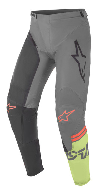 Alpinestars 2021 Racer Compass MX Pant Black Dark Grey Green Fluo