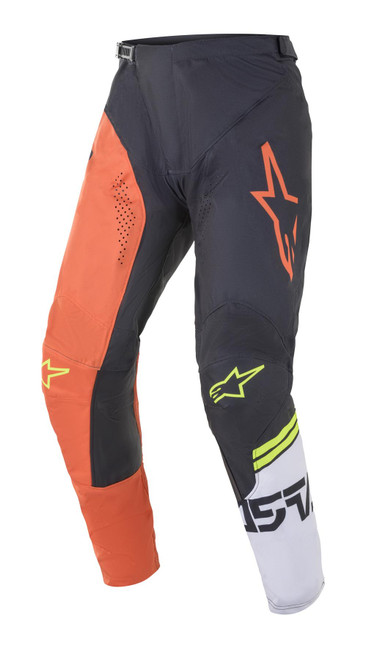 Alpinestars 2021 Racer Compass MX Pant Orange Anthracite Off White