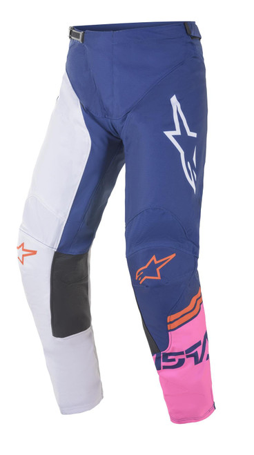Alpinestars 2021 Racer Compass MX Pant Off White Navy Pink Fluo