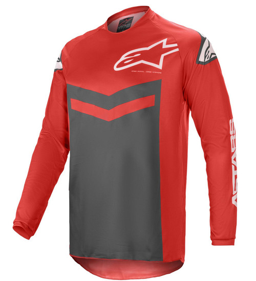 Alpinestars 2021 Fluid Speed MX Jersey Bright Red Anthracite