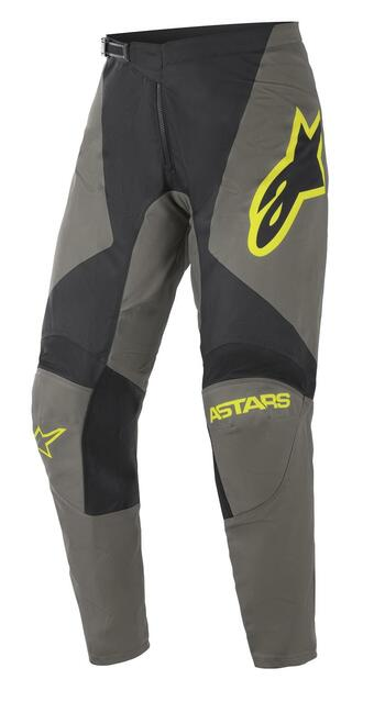 Alpinestars 2021 Fluid Speed MX Pant Dark Gray Yellow Fluo