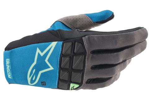 Alpinestars 2021 Racefend MX Gloves Ocean Blue/Mint