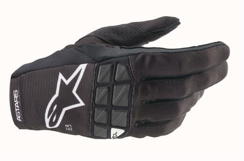 Alpinestars 2021 Racefend MX Gloves Black White