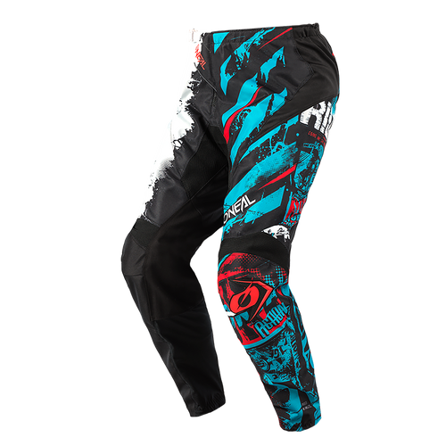 O'Neal 2021 Youth Element MX Pant Ride Black/Blue