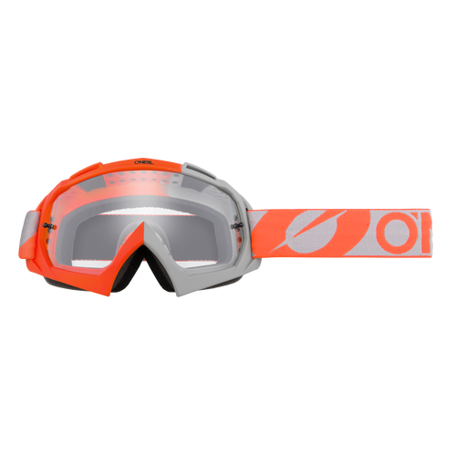 O'Neal 2021 B-10 Goggle TWOFACE orange/gray - clear