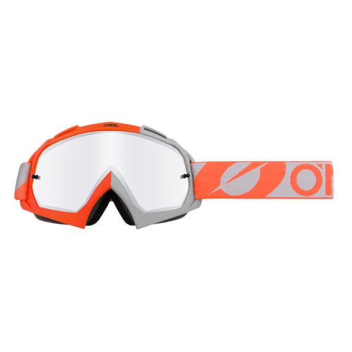 O'Neal 2021 B-10 Goggle TWOFACE orange/gray - silver mirror