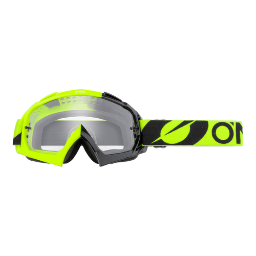 O'Neal 2021 B-10 Goggle TWOFACE black/neon yellow - clear