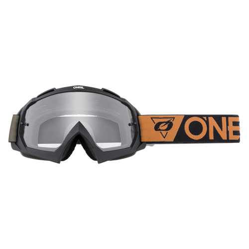 O'Neal 2021 B-10 Goggle SPEEDMETAL black/brown - clear
