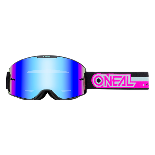 O'Neal 2021 B-20 Goggle PROXY black/pink - radium blue