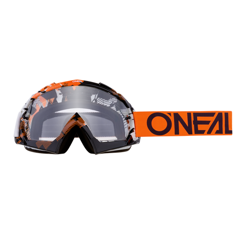 O'Neal 2018 B-10 Goggle PIXEL orange/white - clear