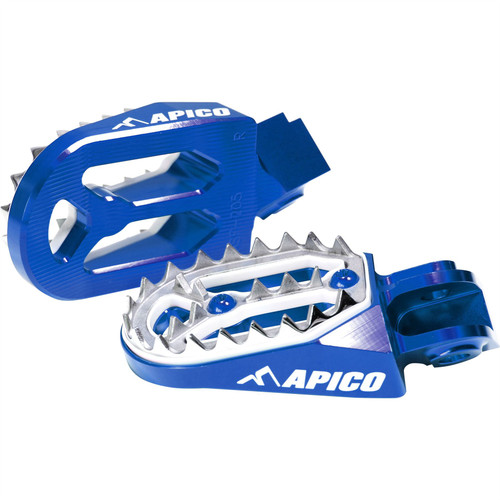 APICO DA 30V101PAU FOOT PEG PRO-BITE KTM/HUSKY SX/TC50-65>19 SX/SX-F/FC >15, EXC/EXC-F/FE>16 (BETA/SHER/GAS>19) BU (R)