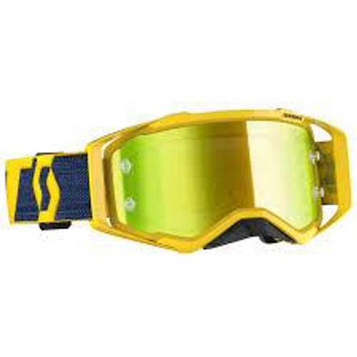 Scott Prospect Goggles Yellow w/Yellow Chrome Works
