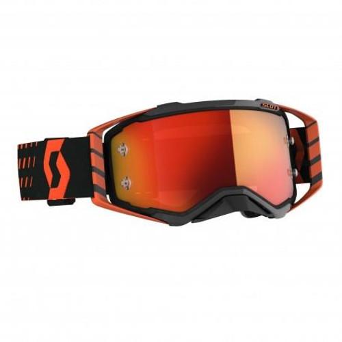 Scott Prospect MX Goggles Orange/Black w/Orange Chrome Lens