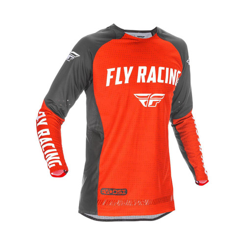 Fly Racing 2021 Evolution DST Adult MX Jersey Red/Black/White