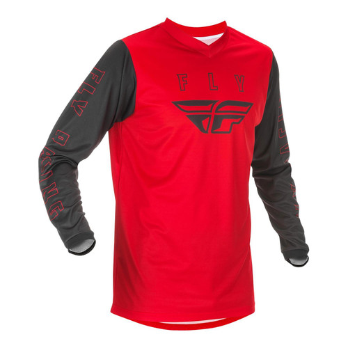 Fly Racing 2021 F-16 Youth MX Jersey Red/Black