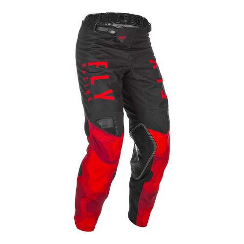 Fly Racing 2021 Youth Kinetic K221 MX Pant Red/Black