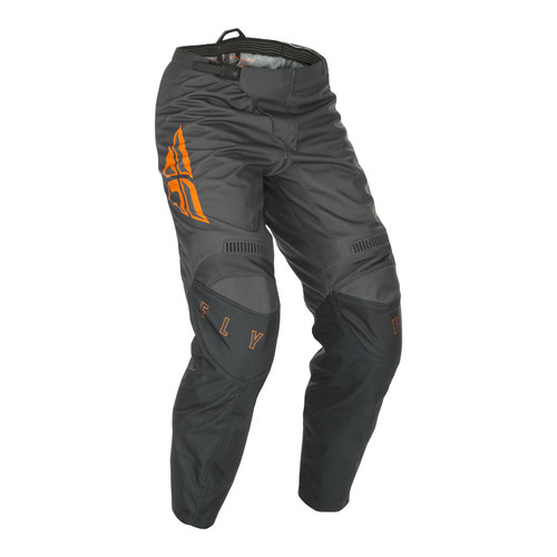 Fly Racing 2021 Youth F-16 MX Pant Grey/Orange