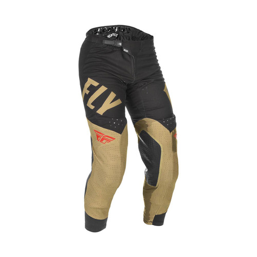 Fly Racing 2021 Evolution DST Adult MX Pant Khaki/Black/Red