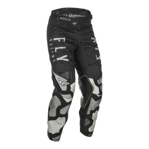 Fly Racing 2021 Youth Kinetic K221 MX Pant Black/Grey