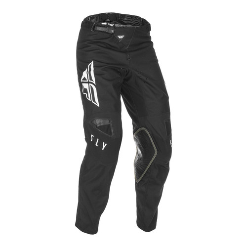 Fly Racing 2021 Youth Kinetic K121 MX Pant Black/White