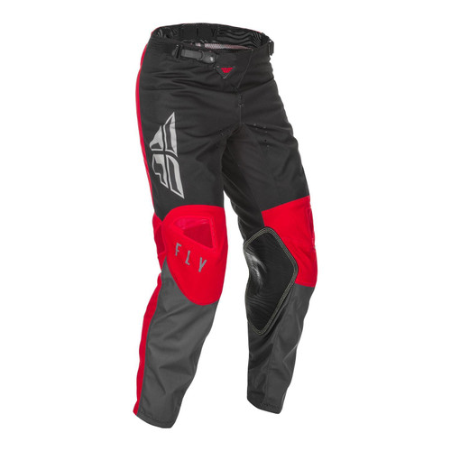 Fly Racing 2021 Youth Kinetic K121 MX Pant Red/Grey/Black