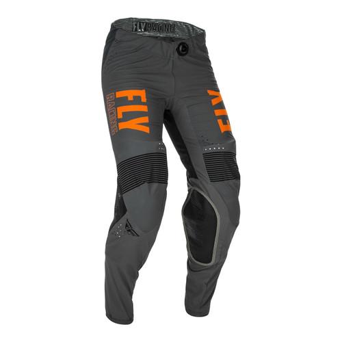 Fly Racing 2021 Lite Adult MX Pant Grey/Orange/Black