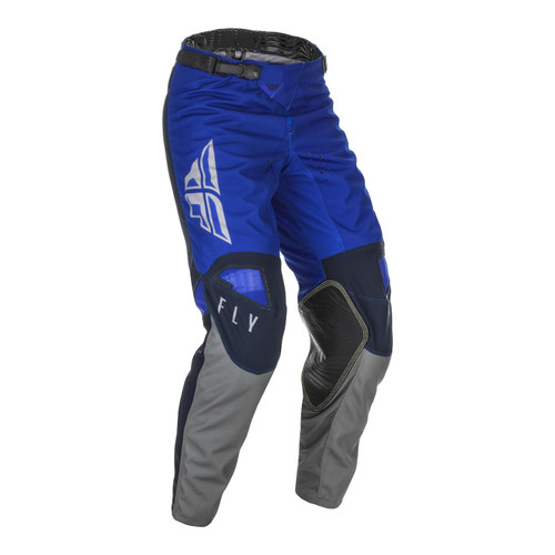 Fly Racing 2021 Youth Kinetic K121 MX Pant Blue/Navy/Grey