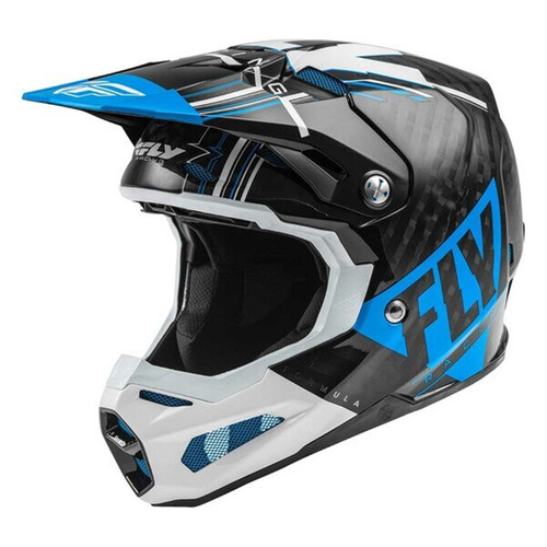 Fly Racing 2021 Formula Vector MX helmet Blue/White/Black