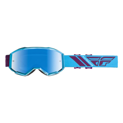 Fly 2020 Zone Goggle Adult (Teal/Burgundy) Blue Mirror/Smoke Lens