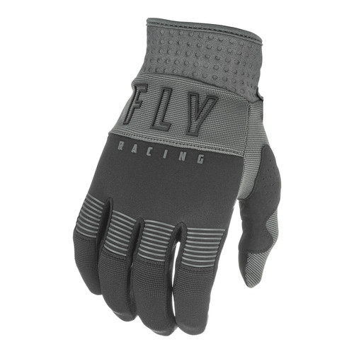 Fly Racing 2021 Youth F-16 MX Gloves Black/Grey